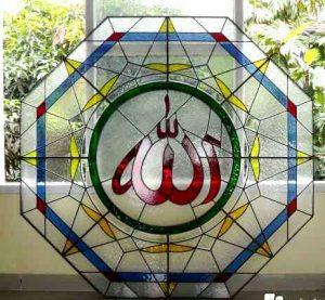 Stained glass Mosque
