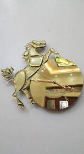 in lay glass mirror art bali