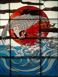 kaca pari bali birds in the sea